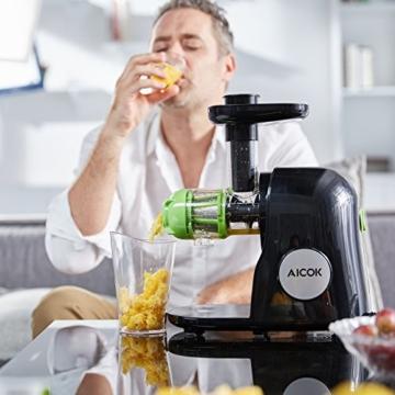 Küchengeräte Test Aicok Entsafter