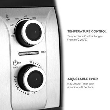Küchengeräte Test Aicok Heißluftfritteuse